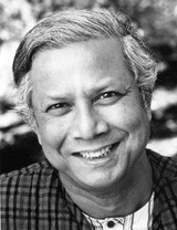 Dr. Muhammad Yunus, the founder of microfinance